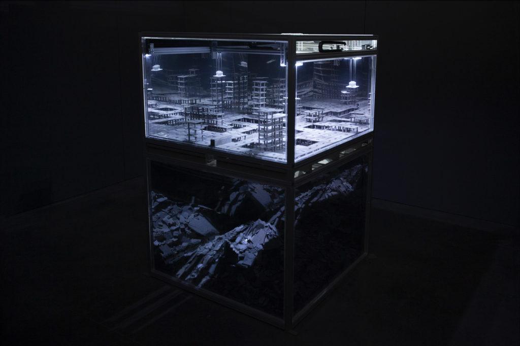 Cénotaphe - Thomas Garnier - Installation - Mirage Festival