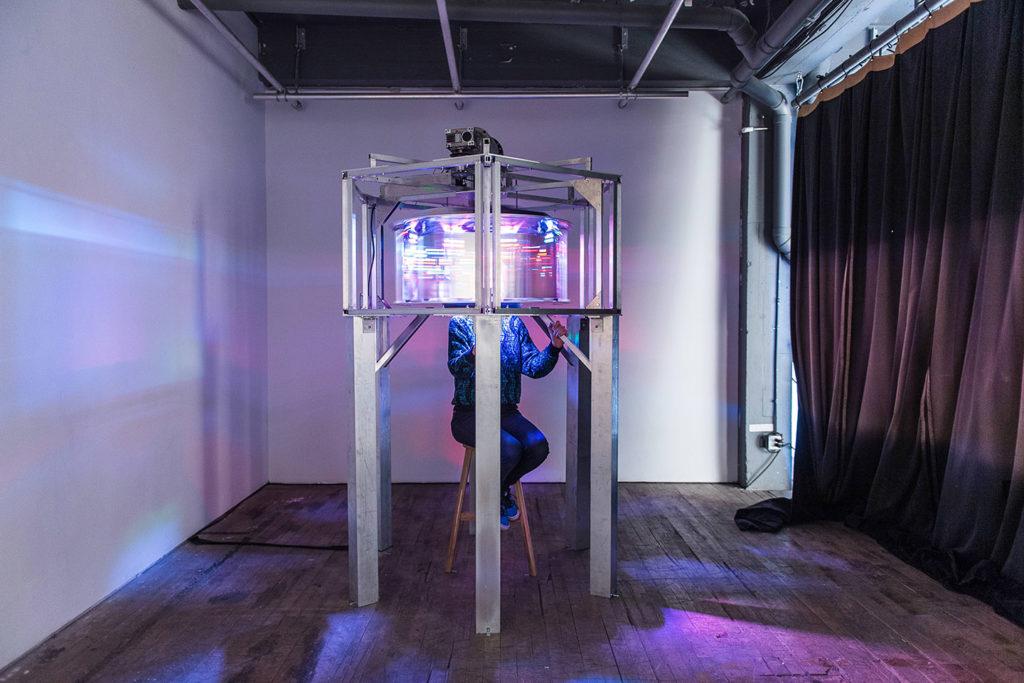 L'Objet de l'Internet - Projet EVA - Installation - Mirage Festival